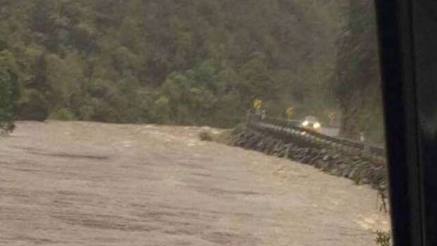 The Karangahake Gorge this afternoon. Photo/Diane Drinkwater