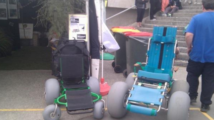 Help Support This Amazing Invention For Kiwis With Special Needs To Enjoy The Beach
