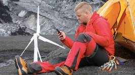 Portable Wind Turbine Gives You Power On-The-Go