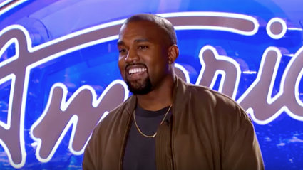 Kanye West auditioned for American Idol and its amazing