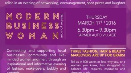 BOP Modern Business Woman Event & Makeover!