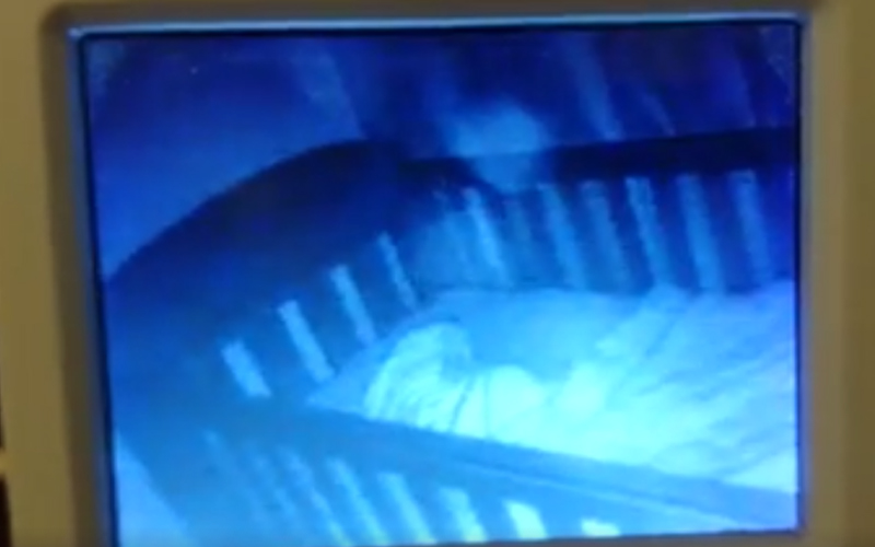 Can You See The 'Ghost Baby' In This Child's Cot?