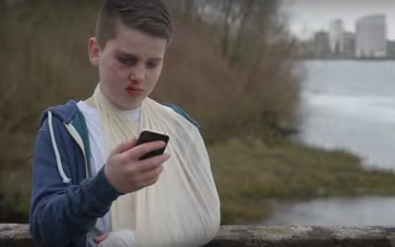 13-Year-Old Boy Makes Moving Video About Tackling Cyber-Bullying