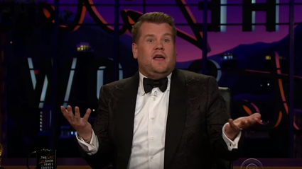 James Corden's 'Rihanna' Grammy Story