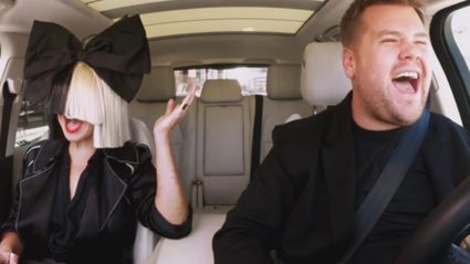 Sia does Carpool Karaoke with James Corden