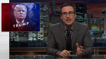 John Oliver takes on Trump