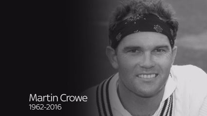 Tribute To Martin Crowe
