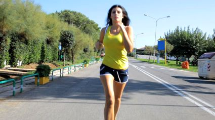 Warning For Female Joggers