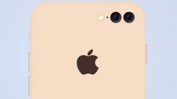 Mock image of what the iPhone may look like