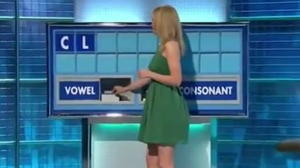 'Countdown' Game Show Host Left Embarrassed After Spelling Out Awkward Word