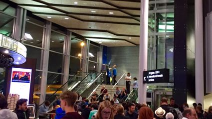 Breaking News : Auckland International Airport being evacuated