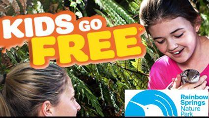 Kids Go Free at Rainbow Springs Rotorua