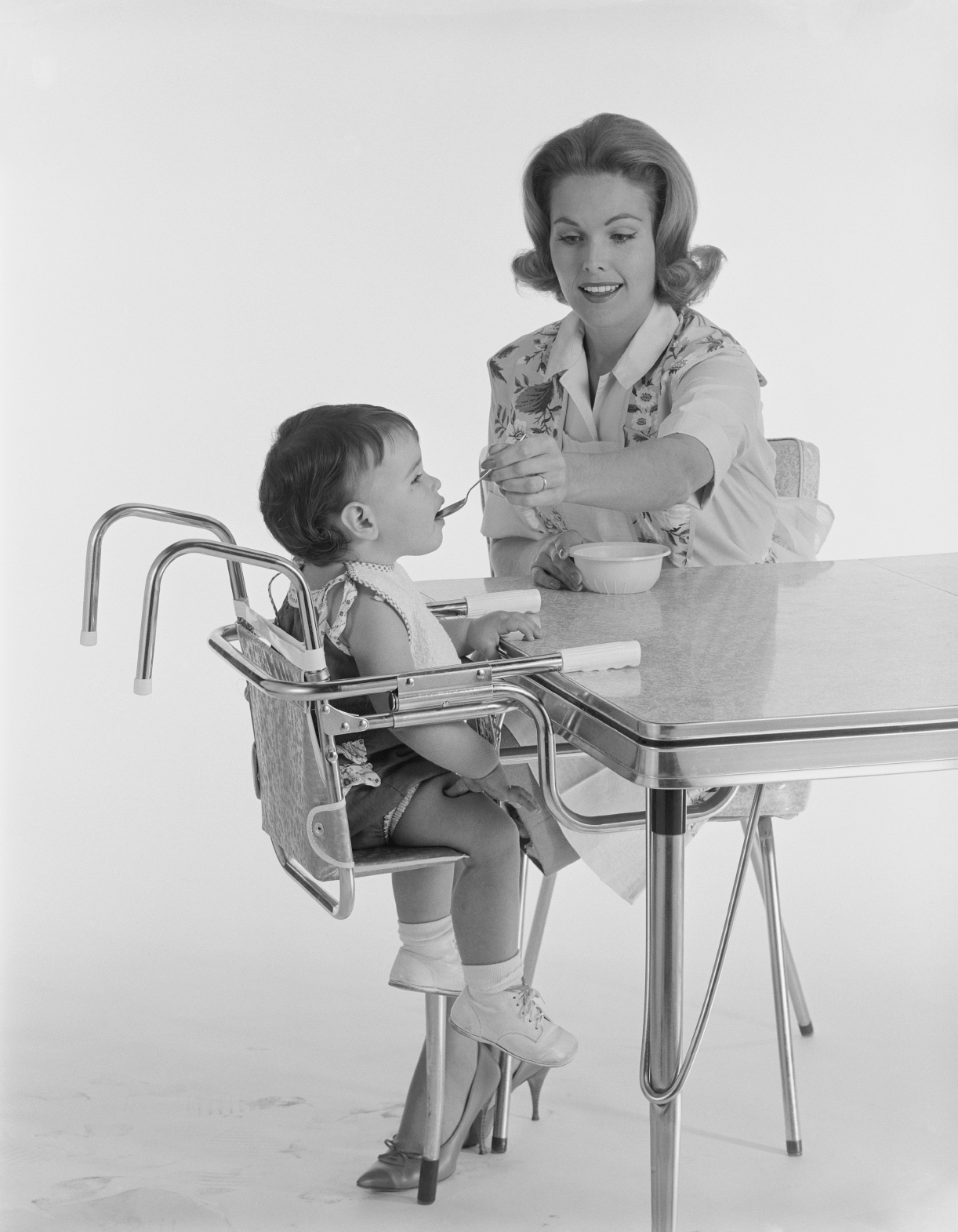 "<b> High chairs that pull up to the table: </b> ""I work at a pediatric and adult trauma center, but being a dad, most of my biggest issues are with child products. Over half of ER visits for children under 1 are due to falls. I wouldn't get a high chair that pulls up to the table, because I've seen way too many kids use their feet to push against the table and tip their chair over backward. A fall like this from 3 feet can cause a skull fracture.""–Brian Fort, MD, emergency medicine physician at Central DuPage Hospital."