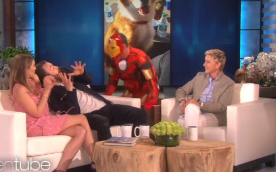 Chris Evans And Elizabeth Olsen Get The Fright(s) Of Their Lives On Ellen