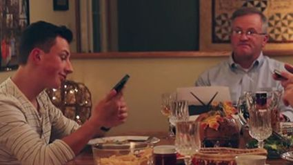 Watch: Dad's Hilarious Way Of Stopping His Kids From Texting At The Table