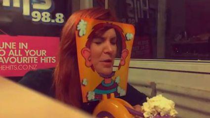 Watch: James & Liv's Pie Face Fail