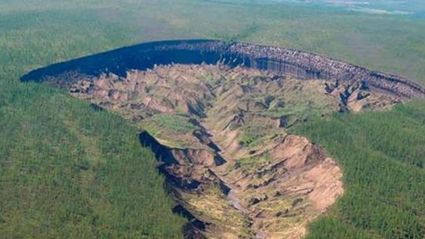 This Crater They've Found In Siberia Is Freaky