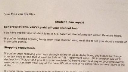 Column: Bye Bye Student Loan