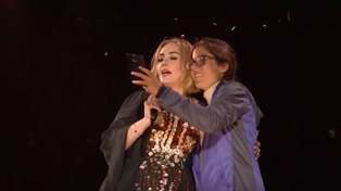 Adele Burps In Fan's Face While Taking Selfie With Her