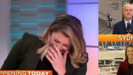 Aussie Newsreader Messes Up Saying 'Big Pitch' on Live TV