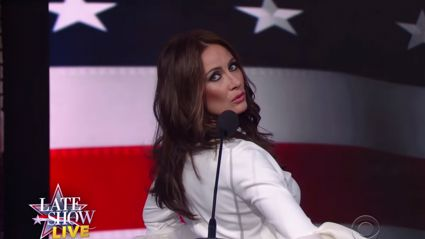 Actress Laura Benanti Impersonates Melania Trump and It's Hilarious