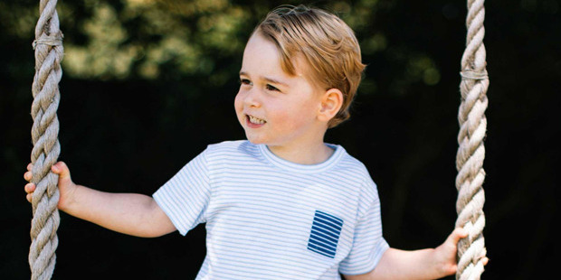 Prince William Says Prince George Was 'Far Too Spoilt' On His Birthday
