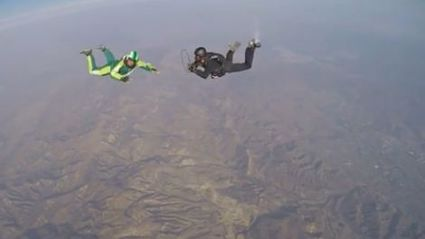 Watch: Skydiver Conquers 20,000 Foot Jump From Plane Without A Parachute