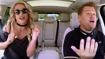Britney Spears Carpool Karaoke is HERE