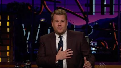 James Corden pays tribute to Gene Wilder