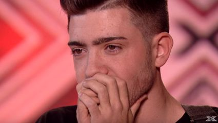 X-Factor Judges Moved To Tears As Teen Sings About His Brother Who Passed Away