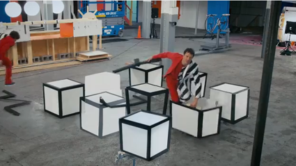 "OK Go's Amazing new Video for ""Writings on the Wall"""