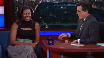 We Are Cracking Up at Michelle Obama's Impression of Barack