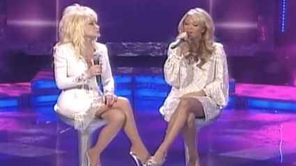 "Watch Dolly Parton & Carrie Underwood's Chilling Cover of ""I Will Always Love You"""
