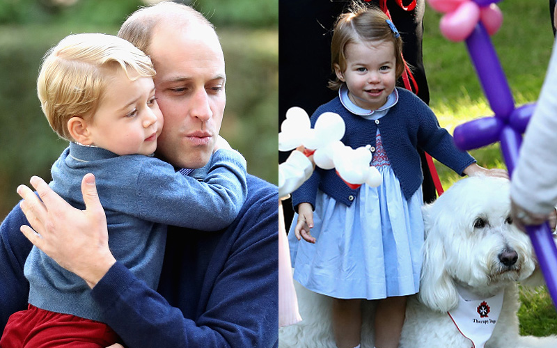 Photos: Princess Charlotte's First Words in Public