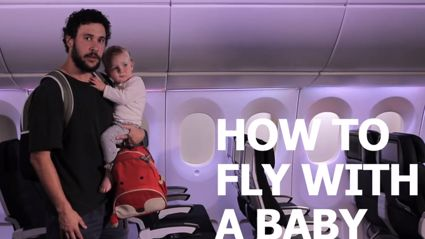 How To Dad: How To Fly With A Baby