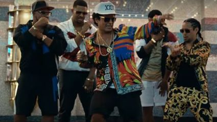 Watch: Bruno Mars Releases First Song '24k Magic' Since 2012!