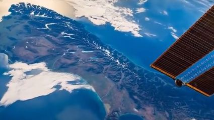 Check Out This Breathtaking Footage Of New Zealand From The International Space Station