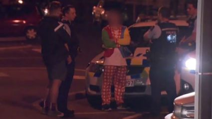 Clown With 'Machete' Arrested In Dunedin