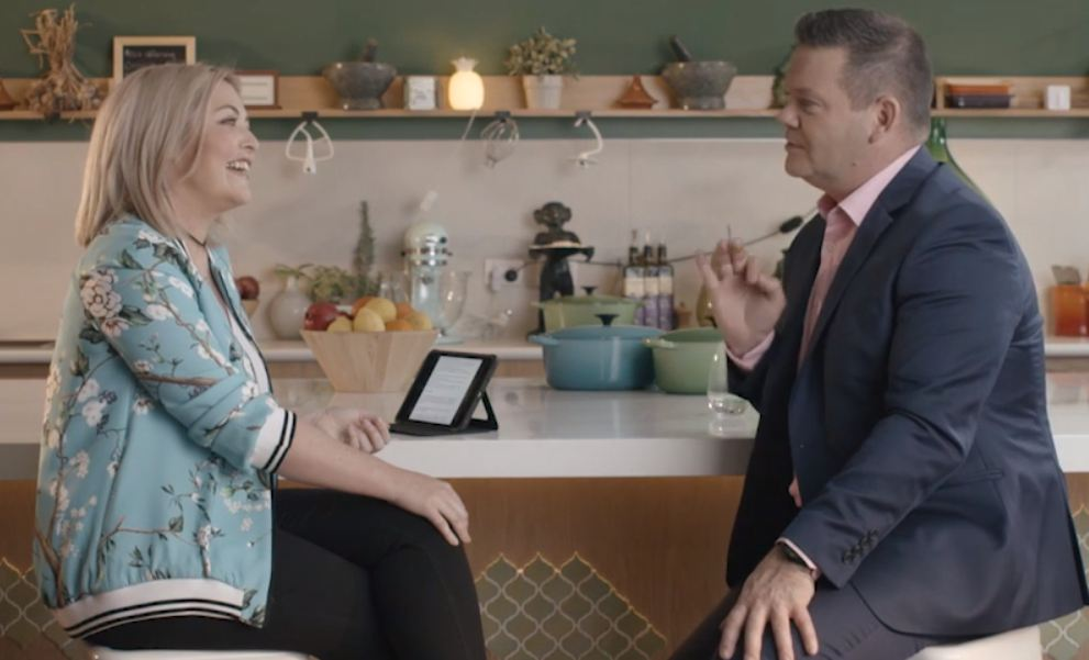 Sarah and Masterchef Judge Gary Mehigan Chat About What Nigella Lawson is Really Like