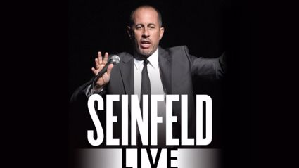 The Hits Presents: Jerry Seinfeld Live In NZ For The First Time!
