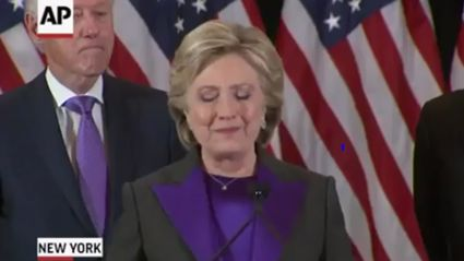 Hillary Clinton: 'Please Never Stop Believing That Fighting For What's Right Is Worth It'