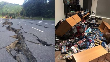 PHOTOS: 7.5 Earthquake That Hit Near Hanmer Springs