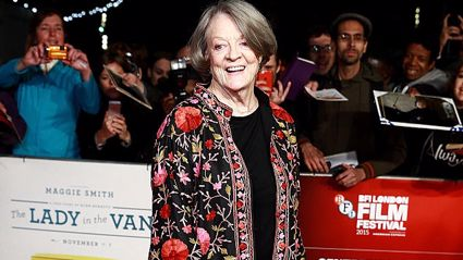 These throwback pics of Dame Maggie Smith prove she's always been fabulous