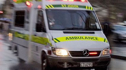 Two-truck crash on State Highway 1 south of Whangarei
