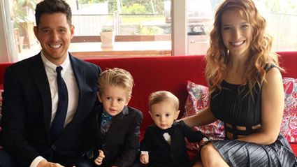 Michael Bublé gives an incredibly moving performance following his son's cancer diagnosis