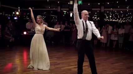 Father and daughter surprise everyone with this epic dance that will blow you away!
