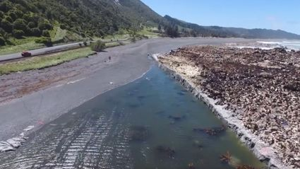 This video of the earthquake damaged Kaikoura coastline is unbelievable