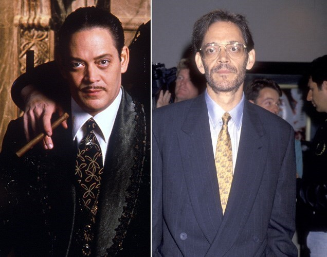 Raul Julia – Gomez. Puerto Rican actor Raul had a career that was about as diverse as one can get. Early on, he worked on the classic kids' show Sesame Street. After The Addams Family he won a Golden Globe, an Emmy, and a SAG award for his work in the TV movie The Burning Season: The Chico Mendes Story. But health issues persisted, and in October of 1994 the wildly talented star passed away at the age of 54.