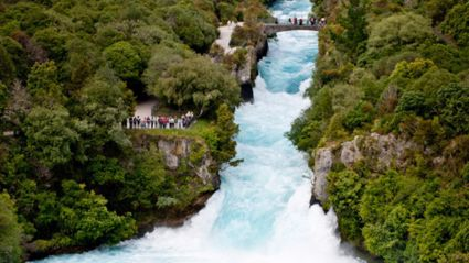 NEWS: Body Found In Huka Falls