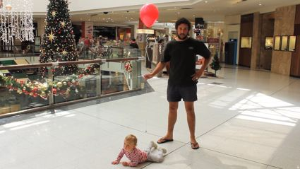 How to Dad's clever hack for Christmas shopping with a baby
